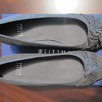 Stuart Weitzman Gray Suede Wedge Shoes Size  6.5 M - Brand New in Box Photo