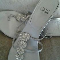 Stuart Weitzman  Heartthrob Rhineston Designer Couture Wedding Shoes W Dust Bag  Photo