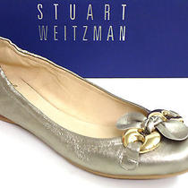 Stuart Weitzman Lolly Ale Washed Nappa Ballet Flat Size 8.5 Photo
