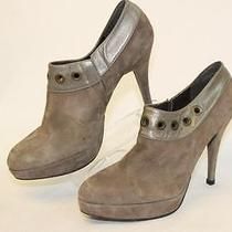 Stuart Weitzman New Mismatch 8.5 7.5 Grommet Suede Leather Womens Boots Spain Nf Photo