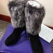Stuart Weitzman Rabbit Fur Ankle Boots  36  Photo
