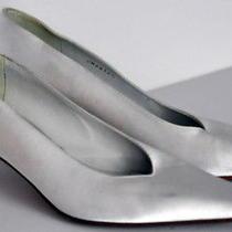Stuart Weitzman Satin Wedding Shoes Sz 7.5 B Photo