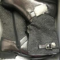 Stuart Weitzman Silver Boots 5 Photo