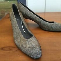 Stuart Weitzman Sparkly Shimmery Heels Size 9n Photo