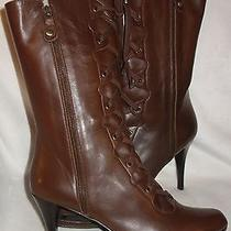 Stuart Weitzman Type Oiled Nappa Boots Shoes Sz 41 New Photo