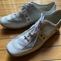 Stuart Weitzman White Sneakers  Size 8 Photo
