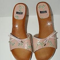 Stuart Weitzman Women's 8.5 Dalmation Dog Clogs Sandals Shoes Like New Photo