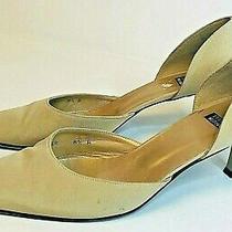 Stuart Weitzman Womens 8.5 Shoes Tan Beige Pumps Heel Career Dress 2316939 Photo