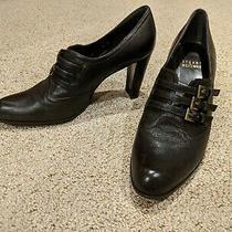Stuart Weitzman Womens Business Casual Black High-Heel Pump (Size 8) Photo