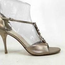 Stuart Weitzman Womens Stiletto Ankle Strap Sandals Shoe Sz 9 M Blush Leather 4