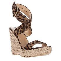 Stuart Weitzman  Xray Espadrille Wedges Sandals Sz 36 New Photo