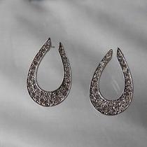 Stud Earrings Swarovski Crystal Earrings Bridal Stud Earrings E6a58 Photo