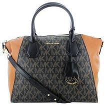 Stunning 368 Michael Kors Campbell Womens Leather Satchel Handbag  Photo