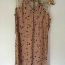 Stunning All Saints Rosalie Dress Blush Pink Size 12. Bnwt. Rrp 148 Photo