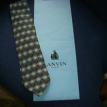 Stunning Lanvintie - New in Lanvin Gift Envelope - Black/brown/blue Photo