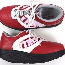 Stunning Mens Mbt Lifestyle Red Coach Sport Shoes Sz Us 8 Uk 7 Photo