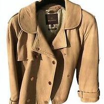 Stunning Mulberry Leather Jacket With Rose Gold Belt Photo