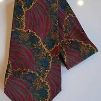 Stunning Oliver by  Valentino Abstract Beaux Arts Inspired Silk Tie Photo
