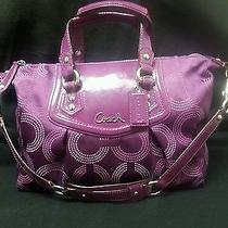 Stunning Purple Coach Satchel Photo
