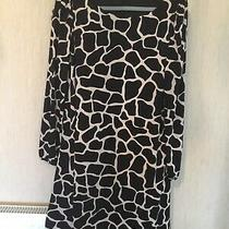 Stunning  Zebra Wallis Dress Size 16 Worn Once Excellent Condition Photo