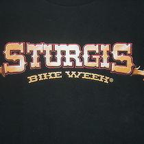 Sturgis Bike Week  T-Shirt  (Small)  Harley's Motorcycles Photo