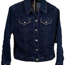 Style and Company New Women's Size Large  Premium Jean Jacket Msrp 69 Photo
