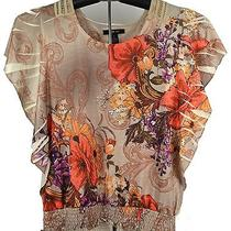 Style and Company New Women's Size Small Blouse Top Msrp 46 Photo