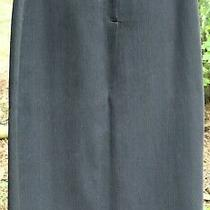 Style & co.black Skirt Women's Size 16 Fully Lined - Career Long a-Line Modest Photo