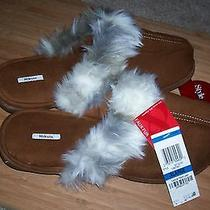 Style & Co. Faux Fur Women's Slippers - Chestnut - Size Xl - Nwt Photo