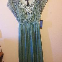style&co. Glowing Water's Dress Size Medium Photo