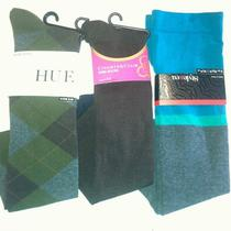 Style & Co Hue Charter Club 3 Pair Knee High Socks High Rise Nwt Photo