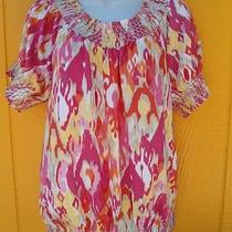 style&co Ikat Shirt - Comes With a Gift  Photo