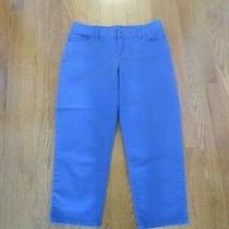 Style & Co. - Ladies Capri Pants - Blue - Size 6 Photo