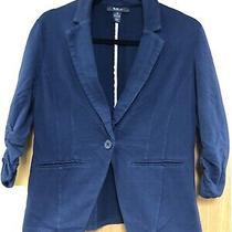 Style & Co. Navy Blue Blazer - Sz Xs Photo