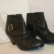 Style & Co New Womens Mookie Black 6.5 M Heels Boots Shoes Photo