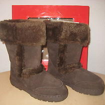 Style & Co New Womens Witty Brown Suede Winter Fashion Boots Size 6 M Shoes Nwb Photo