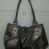 Style & Co Pewter Shoulder Bag Gr10-B2 Photo