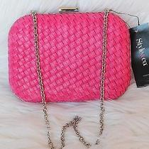 Style & Co. Roxie Clutch Hot Pink Women's Handbag Purse Brand New With Tags Photo