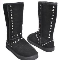 Style & Co Shoes Bolted Black Studded Fashion Mid-Calf Boots Womens Size 6 Photo