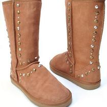 Style & Co Shoes Bolted Chestnut Fashion Mid Calf Boots Womens Size 8 Photo