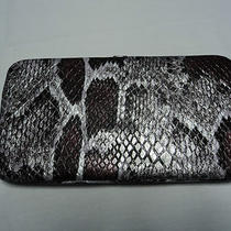 Style & Co Snake Imitation Skin Wallet Nwt Photo