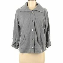 style&co Sport Women Gray Jacket L Petites Photo