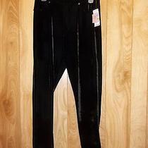 style&co. Velour Leggings From Macy's Msrp 42. Sz Medium Photo