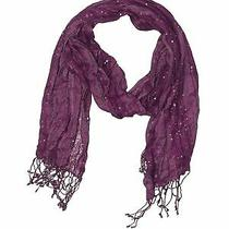 style&co Women Purple Scarf One Size Photo