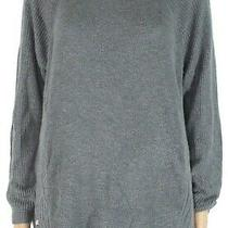 Style & Co. Women's Sweater Gray Size 1x Plus Waffle Knit Pullover 99 058 Photo