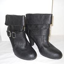 Style & Co Womens Edge Black Heel Ankle Boots 7.5 M Shoes  Photo
