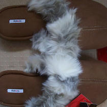 Style & Co. Womens Slippers Brown Slides Small 6 Photo