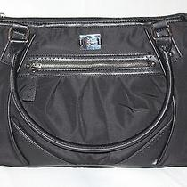 Style & Co. Womens Solid Shopper Tote Handbag Photo