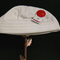 Style & Co. Womens Solid White Beanie Fleece Winter Hat One-Size  Macy's Nwt Photo