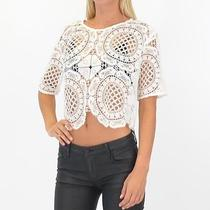 Style Stalker Honk Kong Top in White Size Medium -Free Shipping Photo